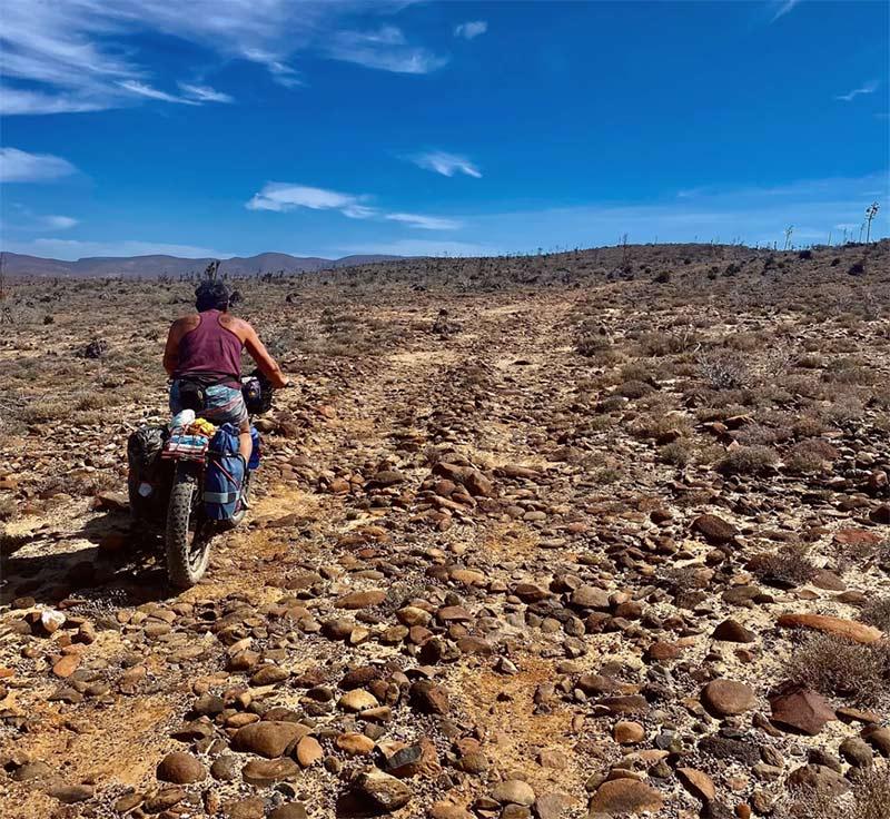 Rock Garden On The Baja Divide